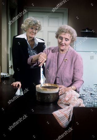 Elaine Stritch and Joyce Carey
