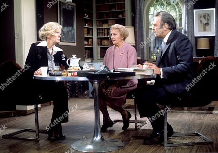 Elaine Stritch, Joyce Carey and Donald Sinden