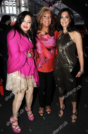 Denise Rich (C) with daughters Ilona Rich Schachter and Daniella Rich Kilstock