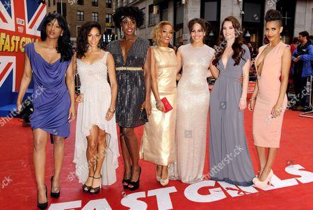 Editorial photo of 'Fast Girls' film premiere, London, Britain - 07 Jun 2012