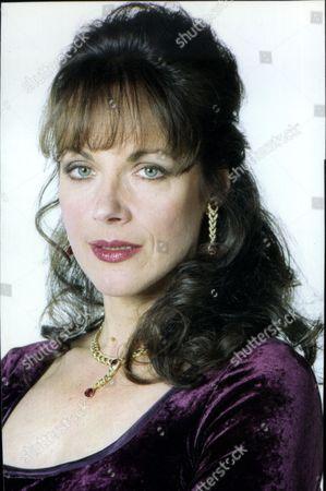 Actress Mary Tamm.