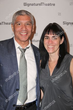 Peter Francis James and Leigh Silverman