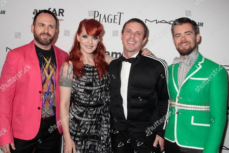 Scissor Sisters - Babydaddy, Ana Matronic, Jake Shears and Del Marquis