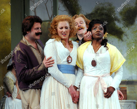 Editorial image of 'Cosi Fan Tutte' performed by Holland Park Opera at the Holland Park Theatre, London, Britain - 06 Jun 2012