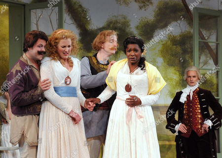 Editorial photo of 'Cosi Fan Tutte' performed by Holland Park Opera at the Holland Park Theatre, London, Britain - 06 Jun 2012