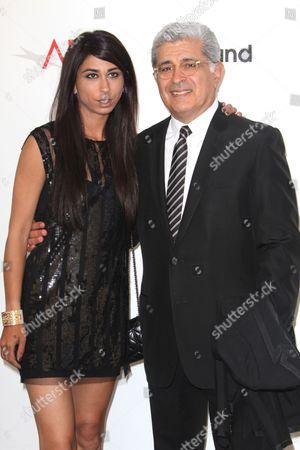 Courtenay Semel and Terry Semel