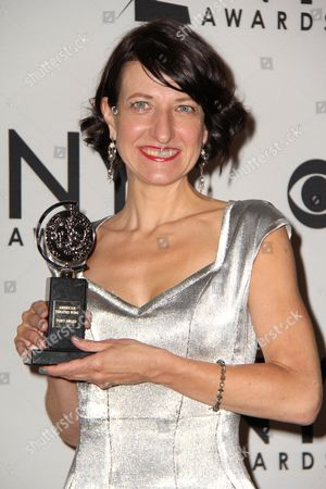 Editorial photo of 66th Annual Tony Awards press room, New York, America - 10 Jun 2012