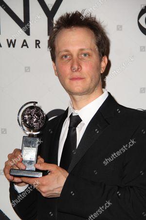 Editorial picture of 66th Annual Tony Awards press room, New York, America - 10 Jun 2012