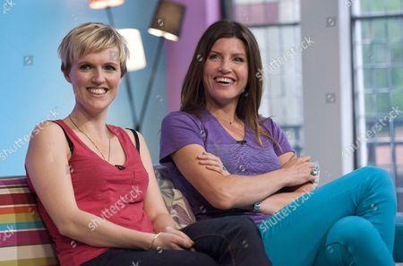 Stock Photo of Holly Walsh and Sharon Horgan