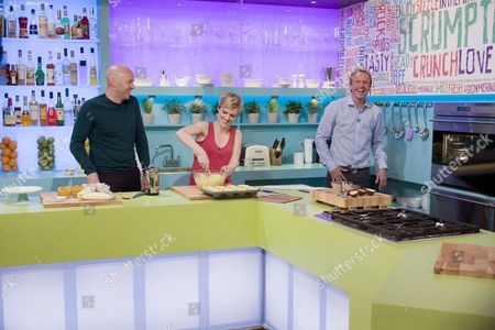 Simon Rimmer, Holly Walsh and Tim Lovejoy