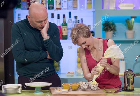 Simon Rimmer and Holly Walsh