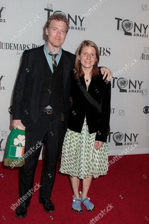 Stock Photo of Glen Hansard and Marketa Irglova