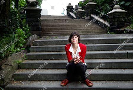 Stock Picture of Valeria Luiselli, New York, America