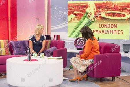 Sophia Warner and Lorraine Kelly
