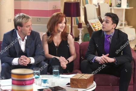 Chris Rogers, Kim Thomson and Nathan Rao