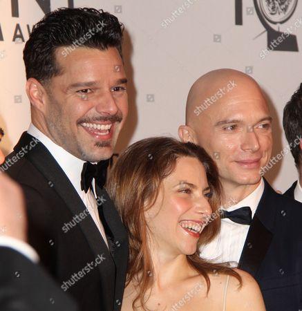 Ricky Martin, Elena Roger, Michael Cerveris