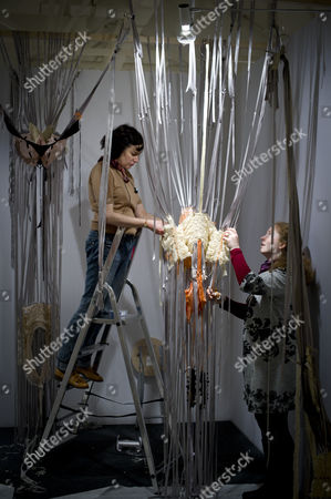 Editorial photo of 'Collect' at the Saatchi Gallery, London, Britain - 10 May 2012