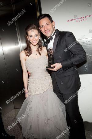Elizabeth A. Davis and Steve Kazee