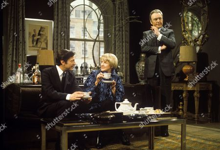 Colin Jeavons, Elaine Stritch and Donald Sinden