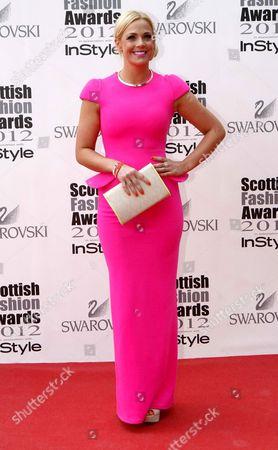 Editorial photo of Scottish Fashion Awards, Glasgow, Scotland, Britain - 11 Jun 2012