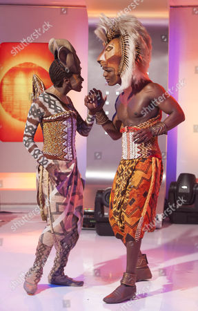 The Lion King - Andile Gumbi and Carol Stennett