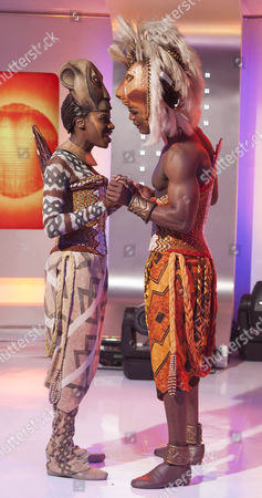 Stock Image of The Lion King - Andile Gumbi and Carol Stennett