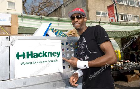 Phillips Idowu at Ridley Road Market