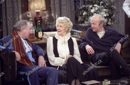 Frank Middlemass, Elaine Stritch and Jim Norton