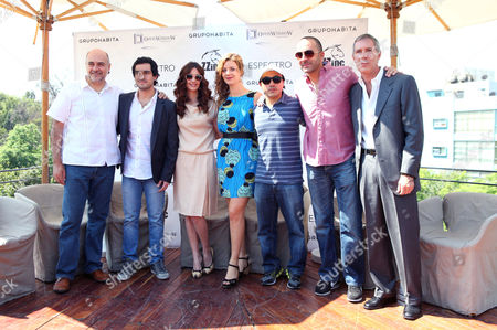 Marco Trevino, Alfonso Herrera, Paz Vega, Johanna Murillo, Alfonso Pineda Ulloa and Antonio de la Vega