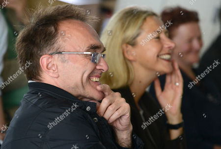 Danny Boyle and Iwona Blazwick, director of the Whitechapel Gallery