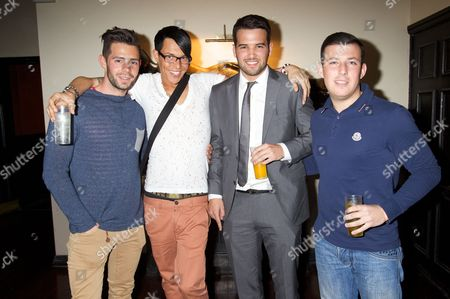 Charlie King, Bobby Norris, Ricky Rayment and Chris Drake