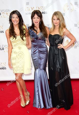 Stock Photo of Jacqueline Mac Innes Wood, Hunter Tylo and Kim Matula