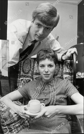 Roger Gale Disc Jockey On Radio Caroline With His Wife The Actress Wendy Bowman At Their London Flat