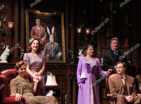 Editorial picture of 'Harvey' Play Opening Night, New York, America - 14 Jun 2012