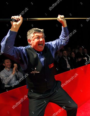 Editorial image of Snooker Legends Cup 2012 at Bedworth Civic Hall, Britain - May 2012