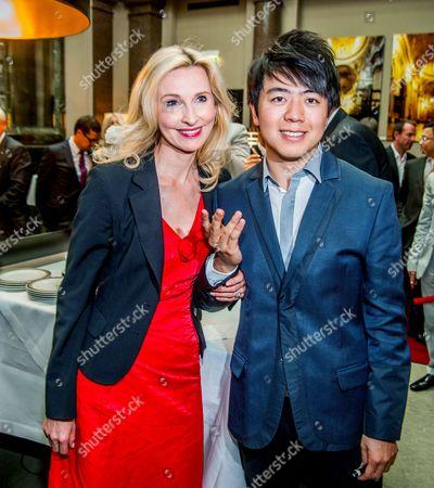Eva Lind and Lang Lang