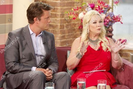 Keir Simmons and Pamela Stephenson