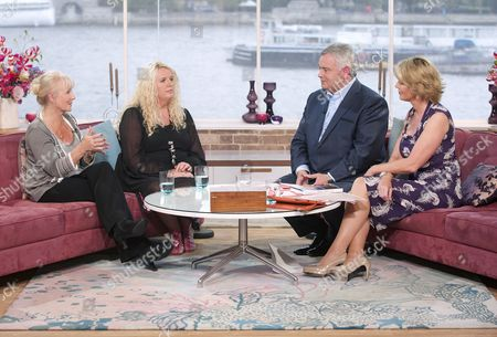 Sue Hymns and Amanda McKenna with Eamonn Holmes and Ruth Langsford