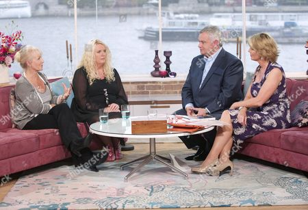 Stock Photo of Sue Hymns and Amanda McKenna with Eamonn Holmes and Ruth Langsford