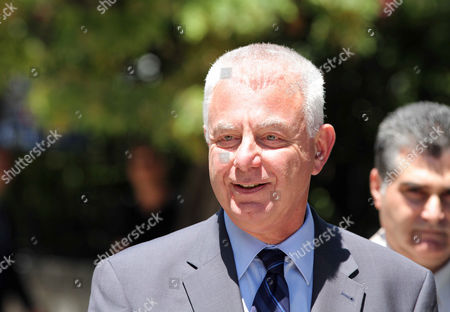 Interim Greek Prime Minister Panagiotis Pikrammenos