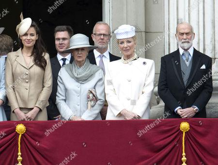 Stock Photo of Sophie Winkleman, Princess Alexandra of Kent, George Windsor Earl of St Andrews, Princess Michael of Kent and Prince Michael of Kent