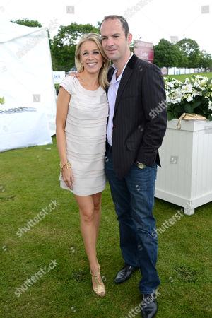 Martin Lewis and wife Lara Lewington