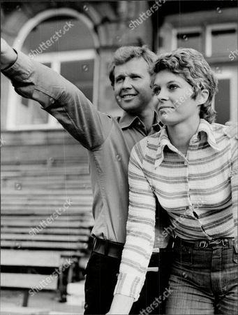 Surrey Cricketer Dudley Owen Thomas With Girlfriend Jill Johnson
