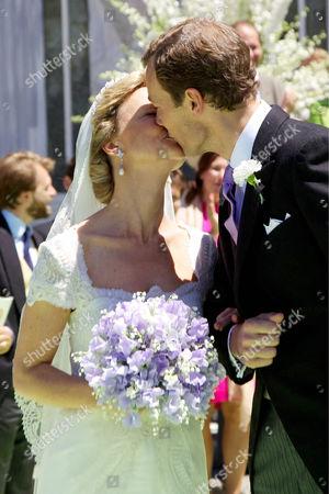 Princess Carolina of Bourbon-Parma and Albert Brenninkmeijer