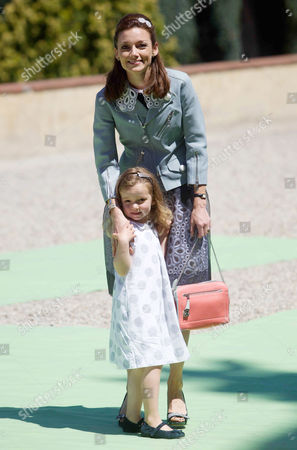 Princess Aimee and daughter Princess Magali