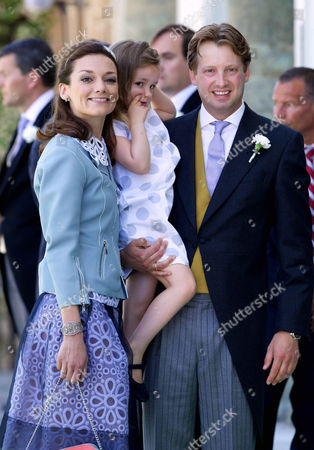 Princess Aimee, Prince Floris and daughter Princess Magali