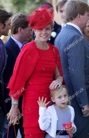 Princess Laurentien and daughter Princess Leonor