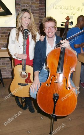 Beatie Wolfe, singer songwriter and Peter Gregson, cellist and composer