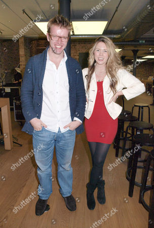 Peter Gregson, cellist and composer and Beatie Wolfe, singer songwriter