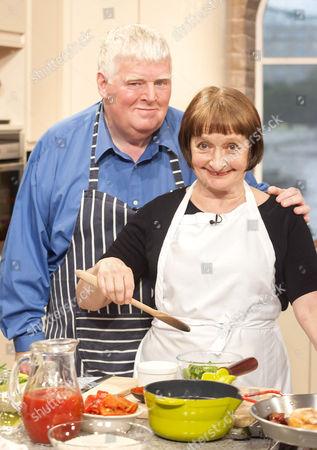 Janine Duvitski and Kenny Ireland